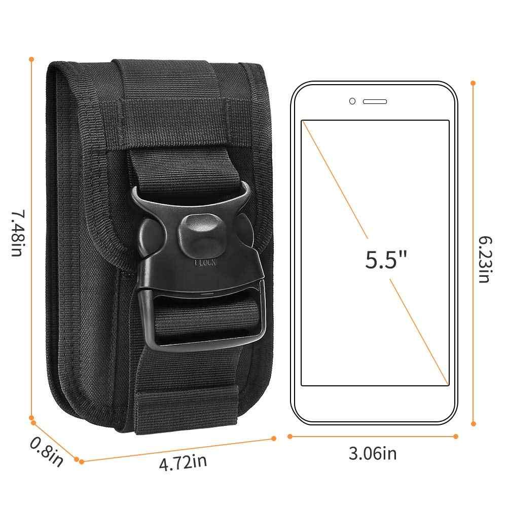 Тактический мини-кошелек MOLLE футляр для удостоверения личности Кошелек Сумка EDC чехол для гаджетов поясной ремень держатель телефона рюкзак для путешествий для телефона