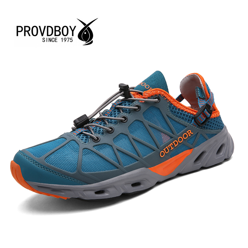 PROVDBOY Hiking Shoes Breathable Men Women Lace-up Rubber Outsole Material Professional Trekking Outdoor Shoes Sapato Masculino breathable lace up men outdoor hiking shoes