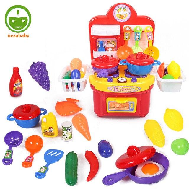 Cool baby kitchen toys set child pretend play toys set for Kitchen set for 8 year old