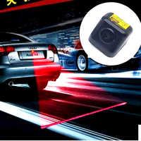 FUGSAME 2014 Novo Produto 12 V LED Luz de Aviso de Segurança Do Carro Auto Luz de Nevoeiro Luz de Freio Da Cauda Do Laser