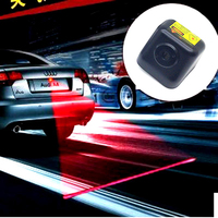 2014 New Product 12V LED Car Safety Warning Light Auto Laser Tail Fog Light Brake