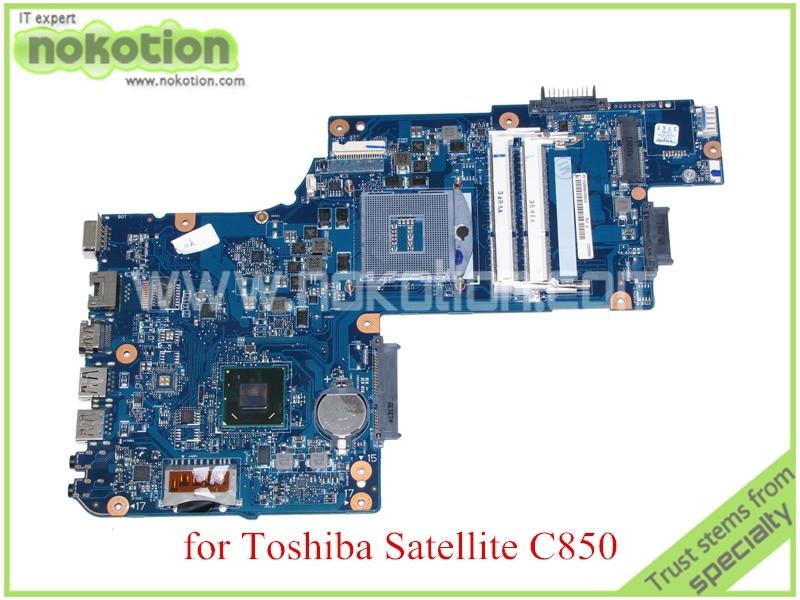 NOKOTION H000050950 for toshiba satellite C850 laptop motherboard 15'' HM77 HD4000 Graphics DDR3 100%test nokotion mainboard a000073390 da0te2mb6g0 rev g for toshiba satellite l640 l645 laptop motherboard intel hm55 hd graphics