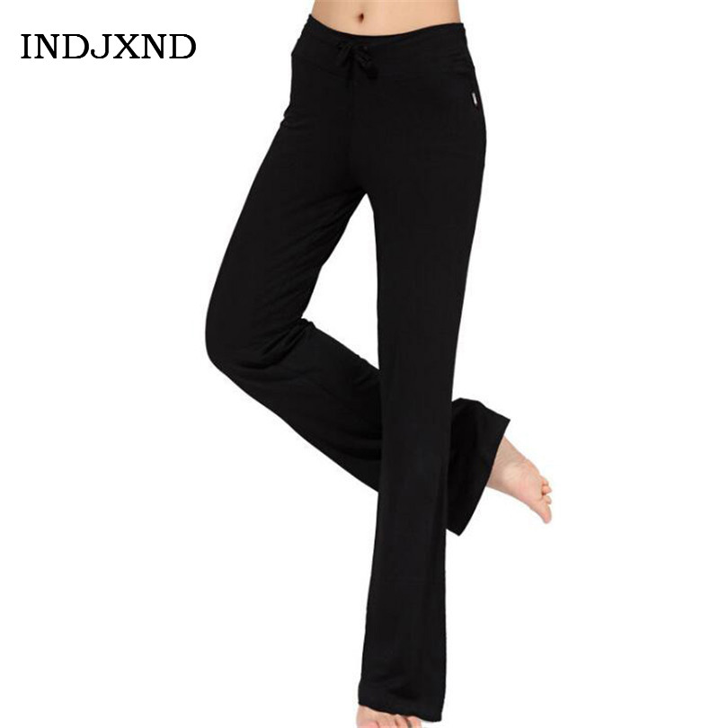 Women Black Dancing Trousers Loose Harem Pants High Waist Workout Yuga Sportswear Modal Pant Full Length Pantalones Baggy K164