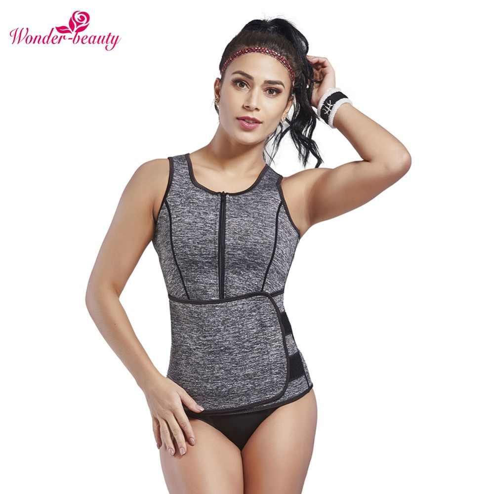 81ff6fd398 Wonder-Beauty Neoprene Vest Shapewear Belly Girdle Belt Slimming Waist  Cincher Adjustable Body Shaper Sleeveness