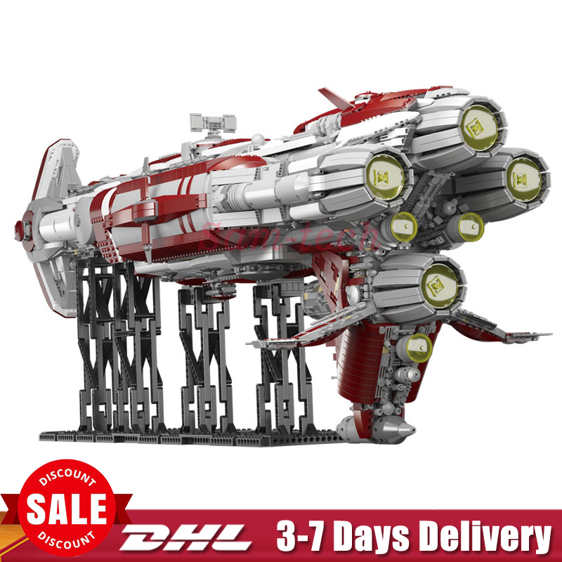 2018 MOC Lepin 05079 7956pcs Star Plan War The Zenith Old Republic escort cruiser Set Building Blocks Bricks Kids Toys Gifts