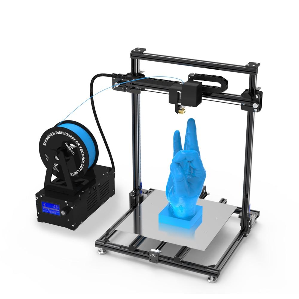 Chine 3 d imprimante fdm en gros tout en un 3d imprimante 3d métal imprimante pla/abs 3d impression shenzhen 3d fabricant d'impression