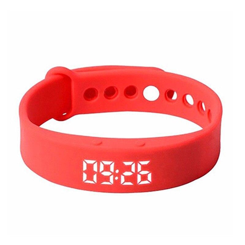 Inteligente Relógio de Pulso Pulseira Esportes Pedômetro Contador de Passos de Calorias W5 Rastreamento