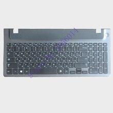 Новое российское изобретение ноутбук клавиатура с каркасом для ноутбука кабель для дисплея Samsung 355E5C NP355V5C NP300E5E NP350E5C NP350V5C BA59-03270C Русская раскладка