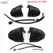 PUFEITE Рулевое колесо Кнопка для KIA K2 Рио Рио X LINE пуговицы Bluetooth телефон круиз Управление с переключателем громкости