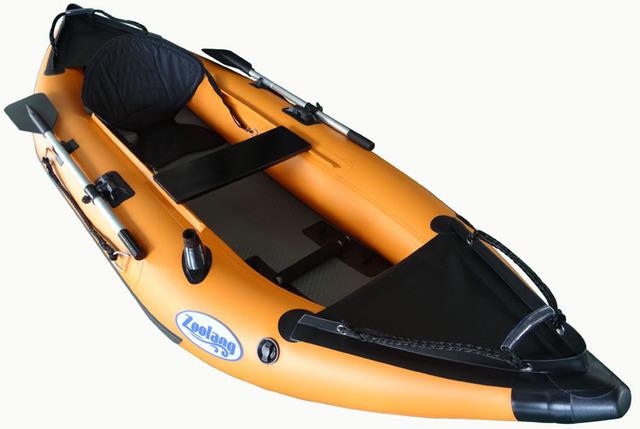 US $990 0 |Wholesale custom new brand single drawing air bottom canoe kayak  inflatable boat dinghy rowing boats-in Rowing Boats from Sports &
