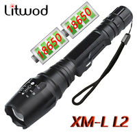 Z30 High Quality LED Flashlight Chip XM-L-L2 Zoomable Waterproof Extended Edition Alloy Mterials Led Torch Aluminum 5 Model