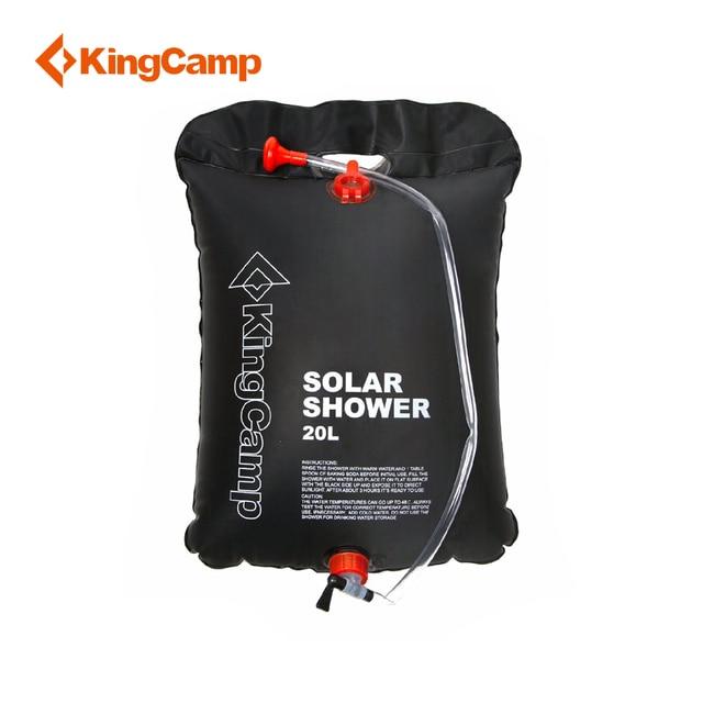 KingCamp 20L сумка для воды Кемпинг Сверхлегкий душевой мешок ПВХ складной мешок портативный солнечный открытый душевой мешок 3 года гарантии