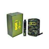 DGK Portable Dry Herb Vaporizer 2200mah Thermostat Regulator Battery Herbal WAX Vape E Cigarette G Pro