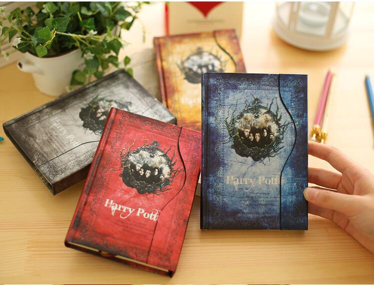 Harry Potter Notebook Planner Magic Book Diary With 2019-2020-2021 Calendar Retro Hard Cover Agenda Schedule Grimore GiftsHarry Potter Notebook Planner Magic Book Diary With 2019-2020-2021 Calendar Retro Hard Cover Agenda Schedule Grimore Gifts