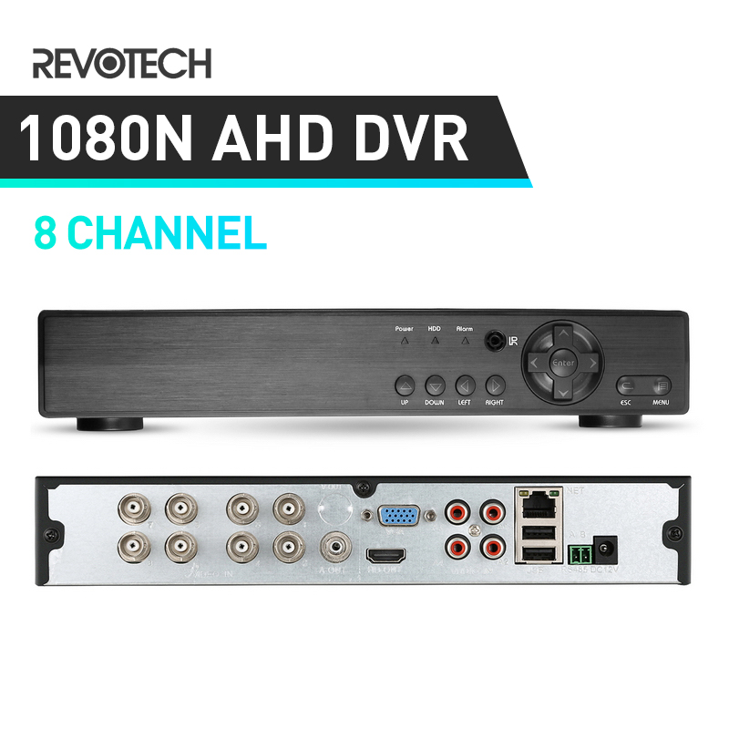 3In1 Hybird DVR 1080N 8 Channel AHD DVR Video Recorder 8 Channel H 264 1080P NVR