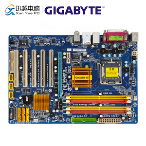Image 1 - Gigabyte GA P43 ES3G REV 1.0 Desktop Motherboard P43 ES3G P43 Socket LGA 775 For Core 2 DDR2 16G ATX Original Used Mainboard