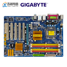 Gigabyte GA P43 ES3G REV 1.0 Motherboard De Desktop P43 ES3G P43 Soquete LGA 775 Para O Núcleo 2 DDR2 16G ATX Usado Original mainboard
