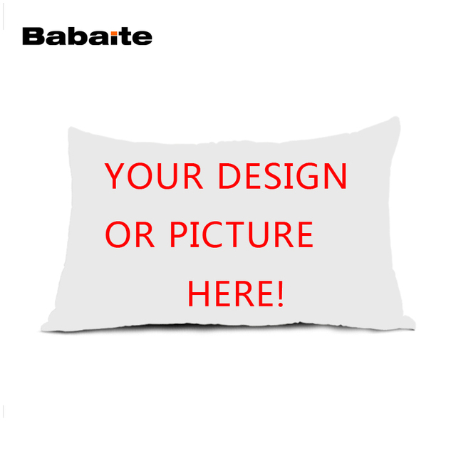 Babaite New Personalized Custom Logo Design Your Own Photo Rectangle