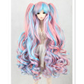 Fashion Synthetic Doll Hair Multicolor Long Wavy Wigs for Dolls,1/3 1/6 BJD Doll Wigs Fashion Dolls Accessories