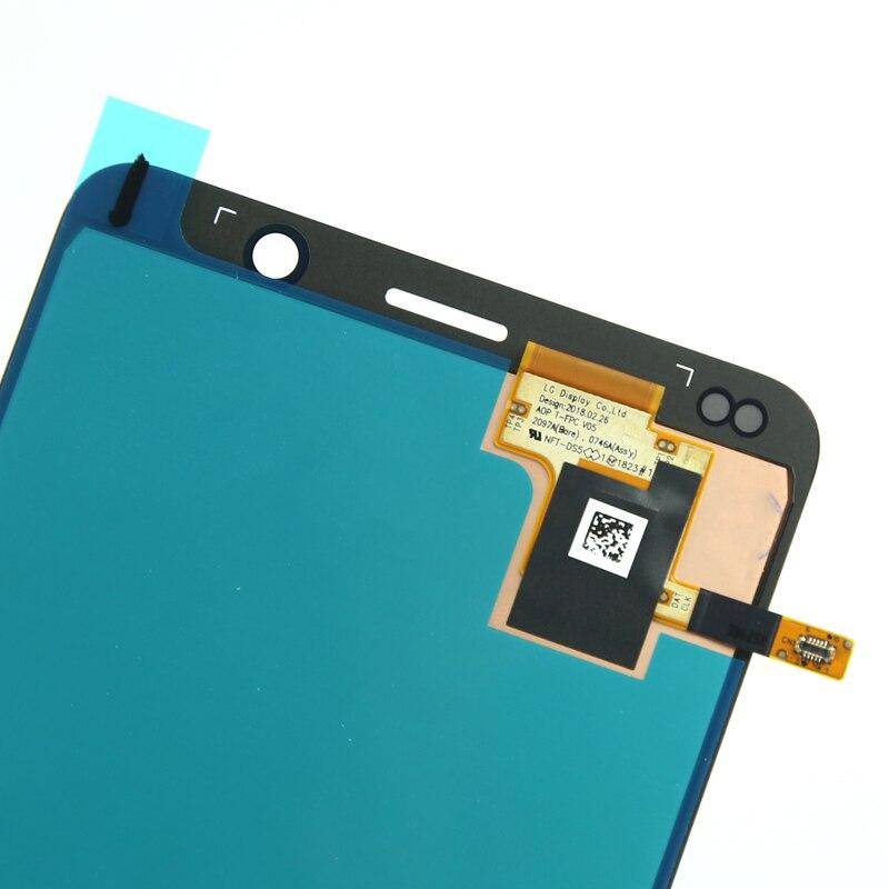 100% TEST pas de pixel mort pour Nokia 9 lcd affichage 2018 version pour téléphone portable lcd écran assemblage réparation remplacement noir - 5