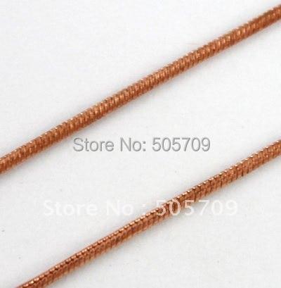 20 метров 1,2 мм змея медная цепь для изготовления ювелирных изделий#20567