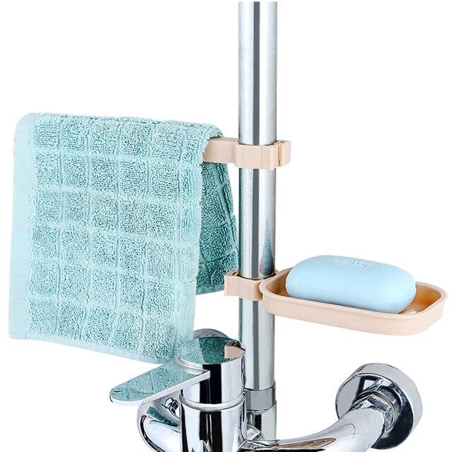 Kreatywny mydelniczka z łazienka wieszak na ręczniki ręcznik zacisk mocujący drenażu łazienka akcesoria formy do mydła drenaż mydelniczka Box Case