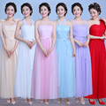 2017 New Arrival girls dresses women's dresses female clothes Long elegant bridesmaid  party dress wedding
