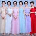 2017 Nuevas muchachas de la Llegada vestidos de las mujeres vestidos de mujer ropa de Largo elegante de la dama de honor vestido de novia
