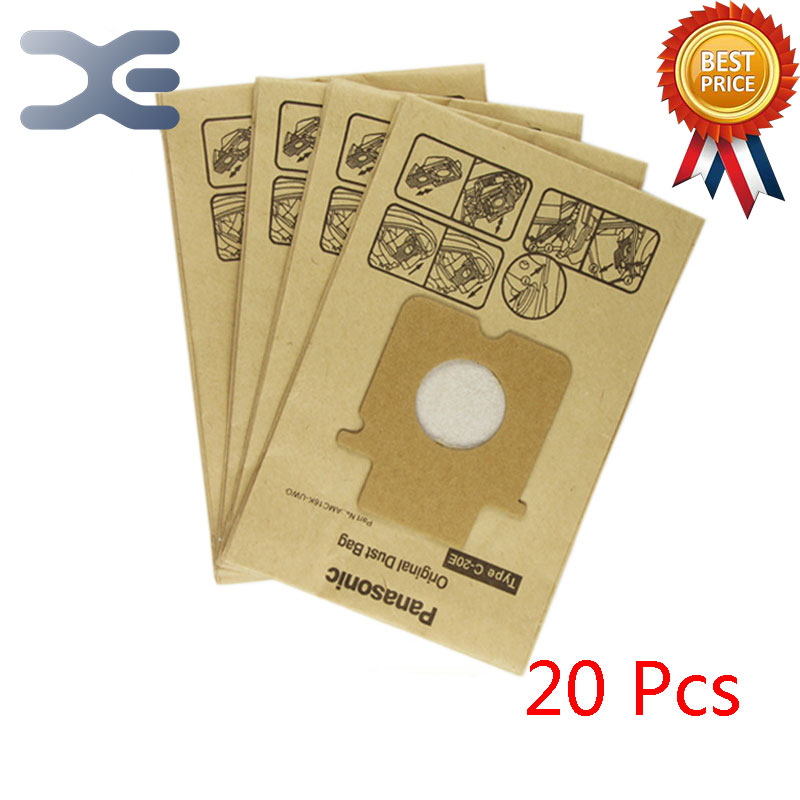 20Pcs High Quality Compatible With Panasonic Vacuum Cleaner Accessories Garbage Cleaner Paper Bag MC-E7101 / E7302 / E7111 free shipping original for hp5100 laser scanner assembly rg5 7041 000 rg5 7041 on sale