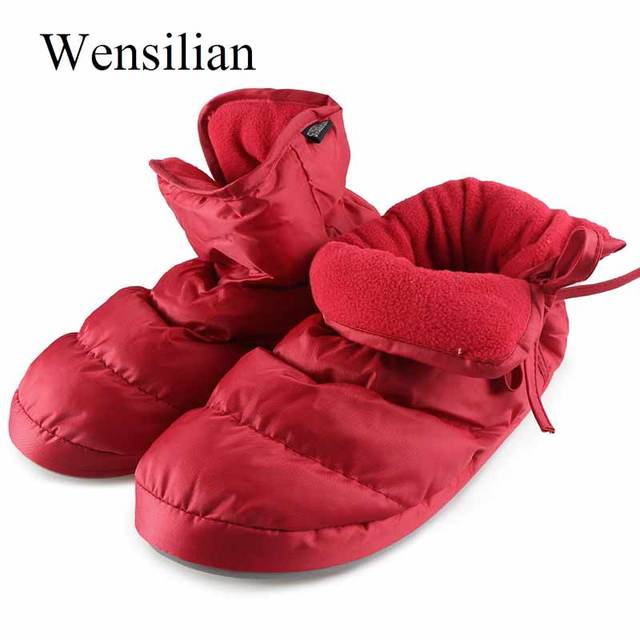 ce5fa1f7d06 Winter Fluffy Furry Slippers Down House Slippers Waterproof Keep Warm  Indoor Fur Slides Home Shoes Pantoffels