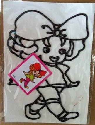 30 шт./лот темперная живопись игрушка, 11*19 см, DIY с цветным рисунком, окна художественные картины