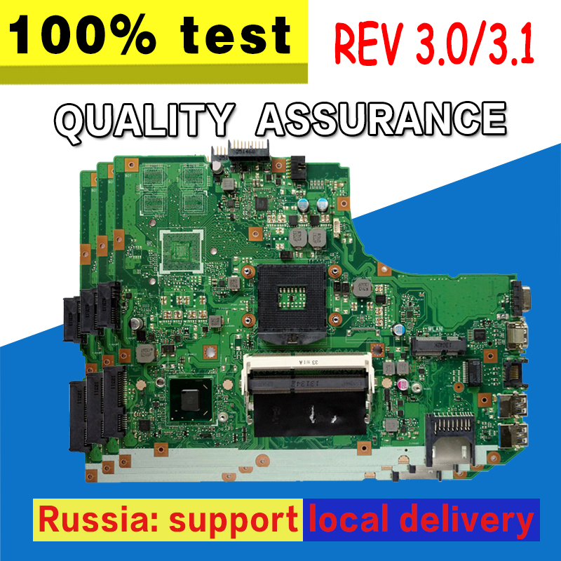 K55A Motherboard REV:3.0/3.1 For ASUS A55V K55V k55VD Laptop motherboard K55A Mainboard K55A Motherboard test 100% OK k55a motherboard rev 3 0 3 1 hm76 for asus a55v k55v k55vd laptop motherboard k55a mainboard k55a motherboard test 100% ok