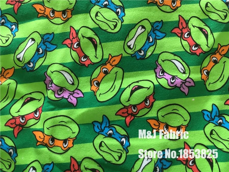 100*170 cm Teenage Mutant Ninja Turtles hizo punto la tela de ...