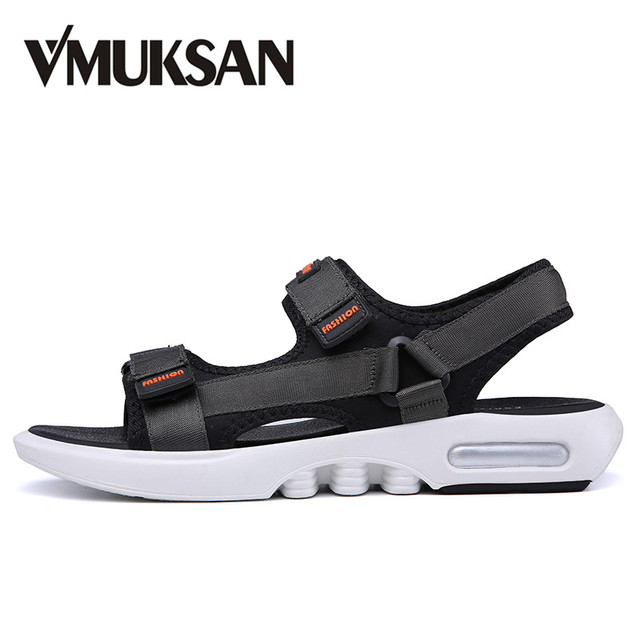 ca976fb830c09 VMUKSAN Hot Sale Beach Shoes Men Summer Cool Casual Sandals Mens Fashion  Trending Male Beach Sandals