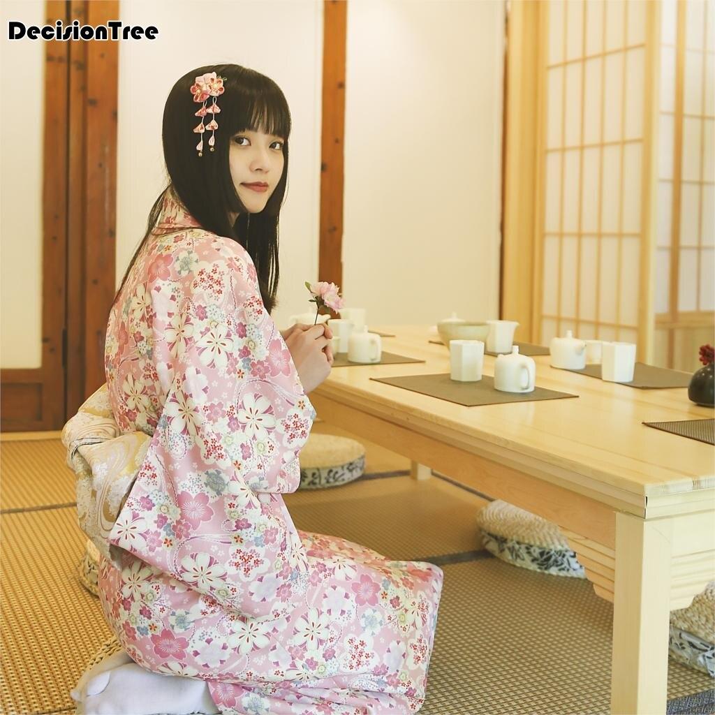 2019 Classical Exotic Japanese Kimono Women's Sexy Costume Photography Clothing Set Dress Without Kimono Backpack