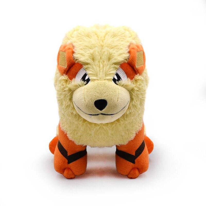 25*38CM Anime Cartoon Figures Arcanine Soft Stuffed Dolls Cute Plush Toys Free Shipping