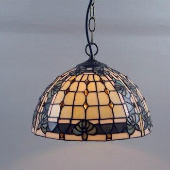 Europeo moderno Mediterráneo creativo Tiffany vidrieras dormitorio Fénix cuenta barroco sala de estar araña