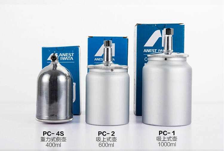 Anest Iwata W-200 Spray Gun W-77 Paint Gun Gravity Type Paint Cup PC-4 400ml Air Brush Parts Paint Tank Metal Coating Plastic free shipping xc3020 70pcg68c new original and goods in stock