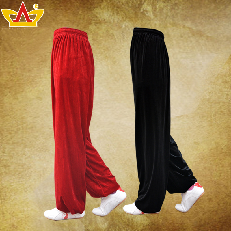 2019 New Kung Fu Tai Chi Uniform Chinese Martial Arts Wushu Taiji Wing Chun Suit Traditional Taichi Pants