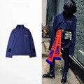 2016 Gosha Rubchinskiy Hoodie Men Women Embroidery Segmented Double Cuff Pullover Sweatshirt Hip Hop Street Justin Yeezus Hoodie