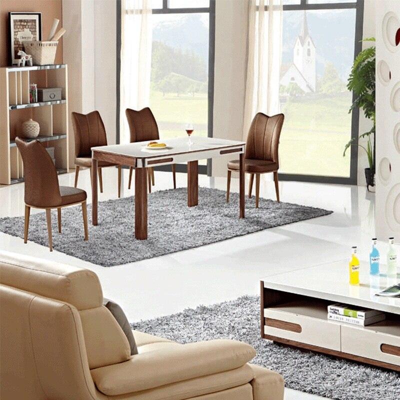 base de mesa de comedor de madera para mesas de comedor de vidrio templado mesa de muebles para el hogar de uso general en mesas de comedor de muebles en
