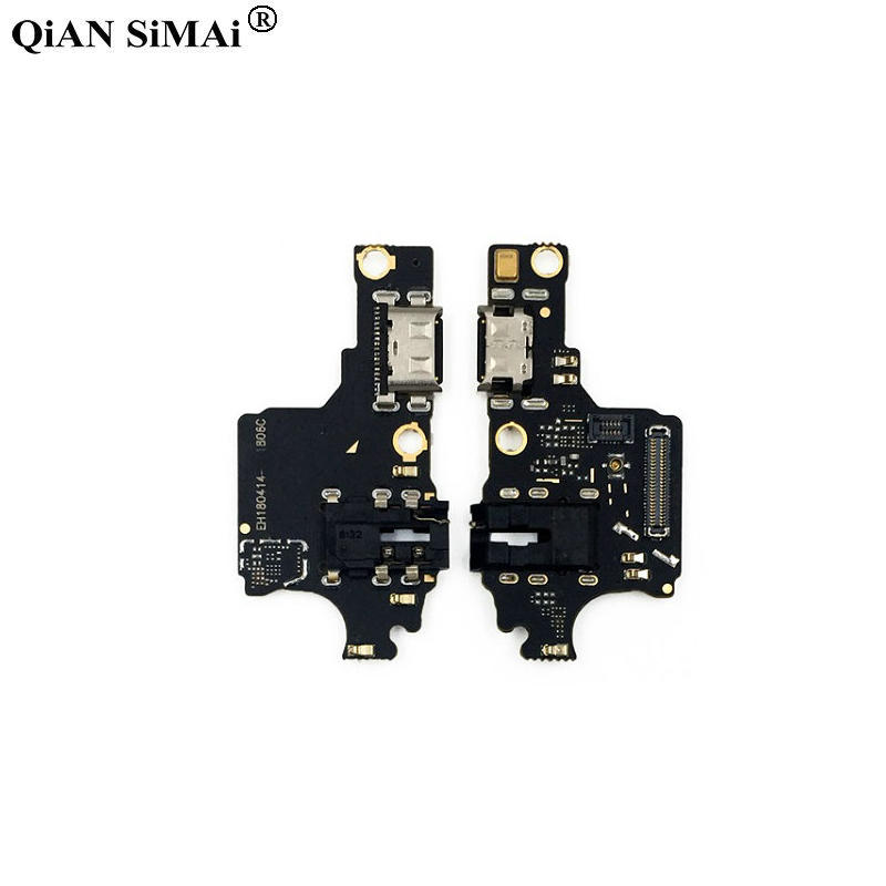 New Mic USB Charger Dock Port Connector Board Flex Ribbon Cable For Huawei Honor 10 Phone
