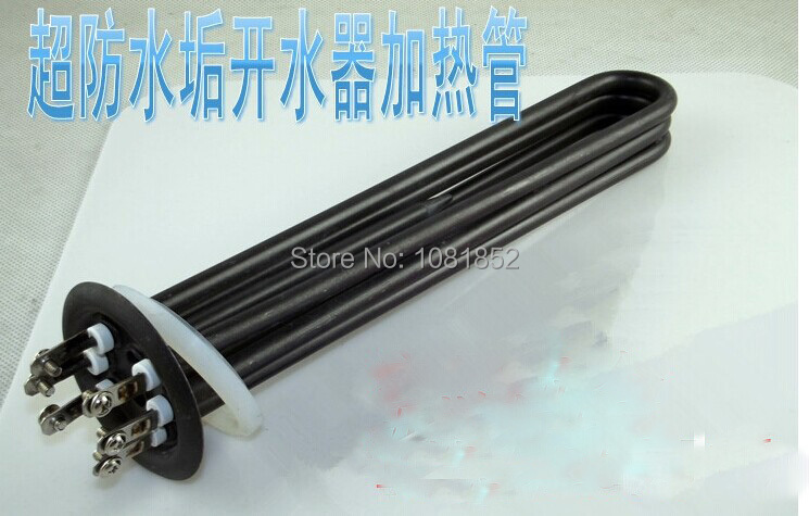 380V 63mm Water dispenser parts commercial  water boiler parts heaters12kw T2  antiscaling coating