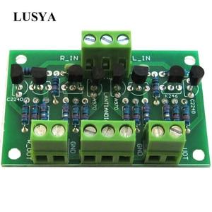 Image 1 - Lusya Preamplifikatör Tampon Preamp 2SK246/2SJ103 C2240/A970 Için CD Çalar Amplifikatör DC 12 18 V T0706