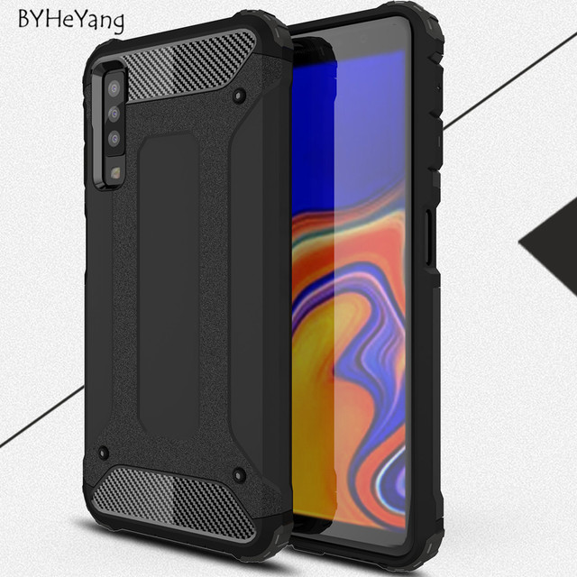low priced 61fa1 01603 US $2.68 6% OFF|For Samsung A7 2018 Case Silicone Shockproof Slim Hard  Tough Rubber Armor Cases for Samsung Galaxy A7 2018 SM A750F A750F Cover-in  ...
