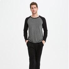 Material modal homem pijamas conjuntos de pijamas homem pijamas pijamas 1135