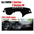 Приборной панели автомобиля чехлы для BMW 1 Серии/1 Серии M 2011-2016 левый руль dashmat pad даш обложка авто приборной панели аксессуары