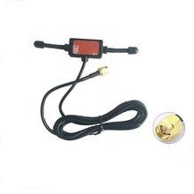GSM/GPRS Angolo, antena de 900/1800 MHz T antena 1,5 m RG174 Linea un Quattro di Frequenza de la antena