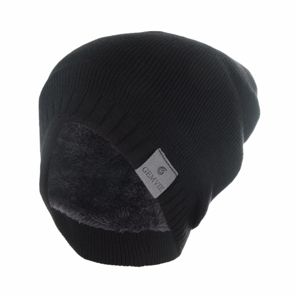 Bonnet épais et chaud avec intérieur Velours