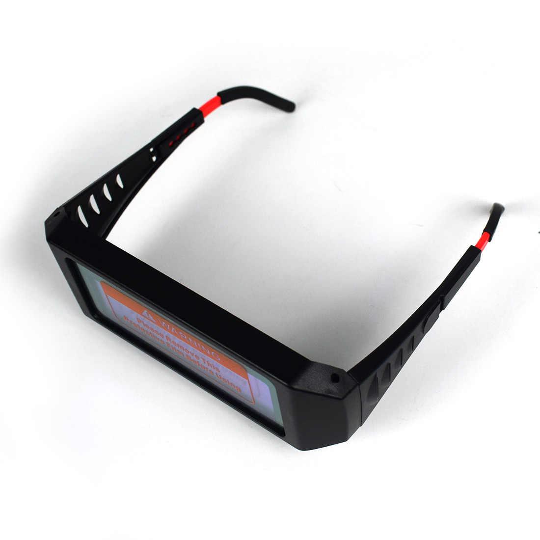 6dd472f9 ... 1 Pair Solar Auto Darkening Welding Goggle, Safety Protective Welding  Glasses Mask Helmet, Eyes ...